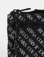 Picture of Versace Logo Print Black Crossbody Bag