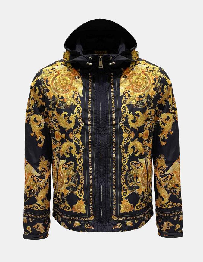 Picture of Versace Versailles Print Hooded Jacket