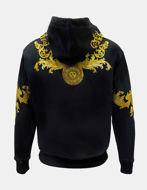 Picture of Versace Rococo Hooded Sweatshirt