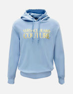 Picture of Versace Logo Embossed Hooded Sweat