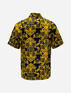 Picture of Versace Black Logo Baroque Regular S/S Shirt