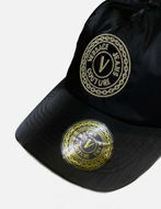 Picture of Versace Embroidered Logo Black Cap