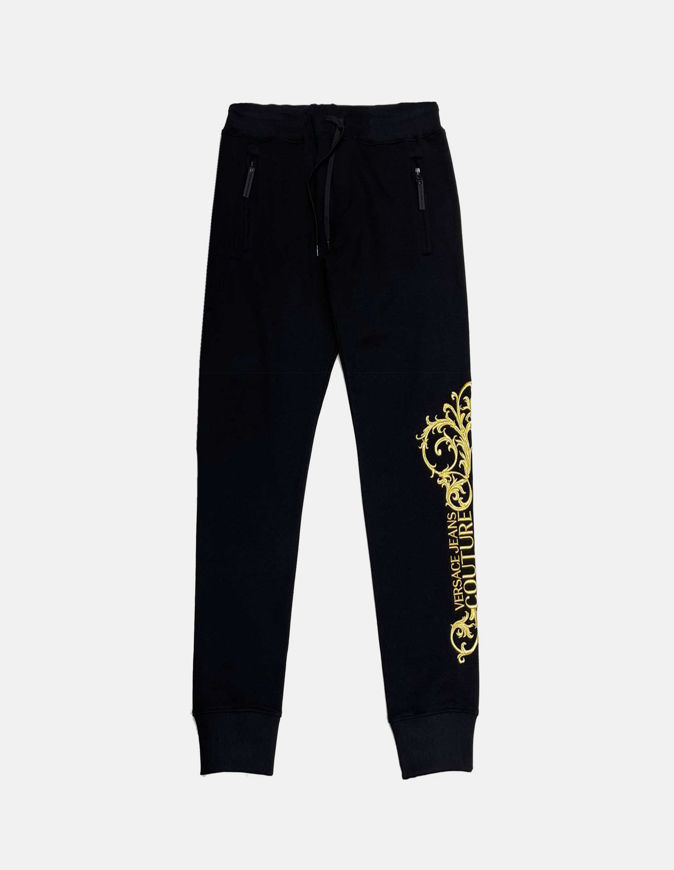 Picture of Versace Baroque Embroidered Trackpants