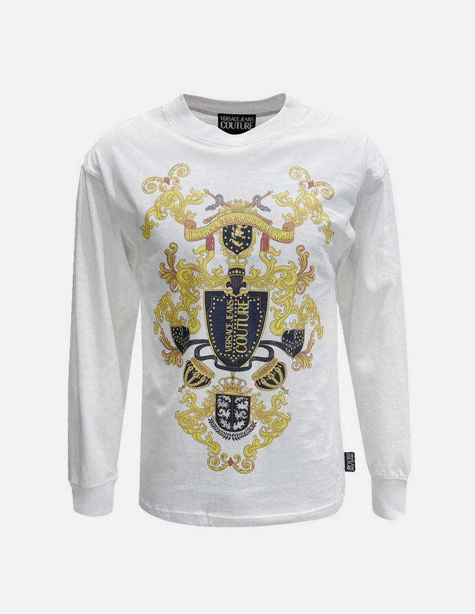 Picture of Versace Shield-Barocco L/S Reg Tee