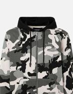 Picture of Diesel Camo Hood Sweat Jacket