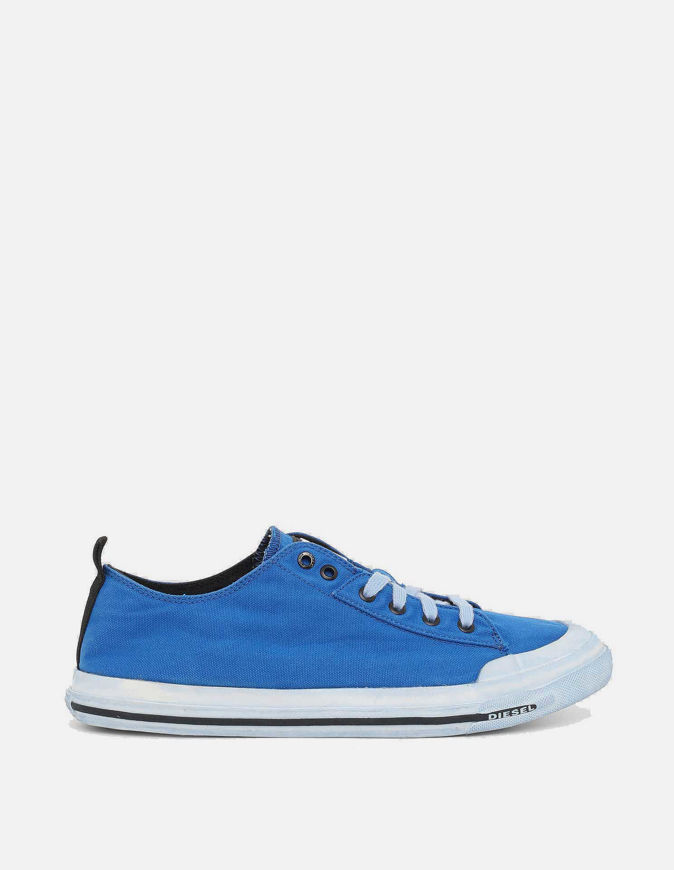 Picture of Diesel Astico Blue Low Sneaker