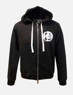 Picture of Gaudi Black Zip-up Hoody Sweatshirt